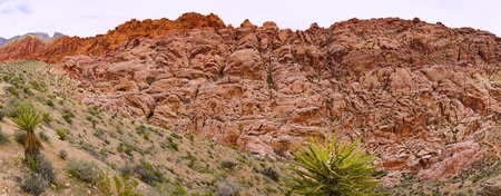 Rock formation at Red Rock Canyon in Nevada