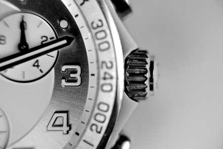 黒と白の時計の顔 写真素材 - 34469457