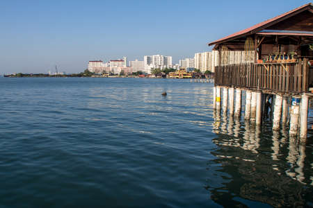 A view of part of Penang island from the Chew Jetty Editorial