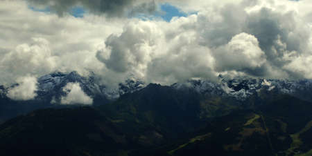 Cumulus clouds 免版税图像