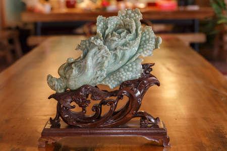 China traditional crafts, jade cabbage Zdjęcie Seryjne