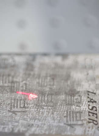 lasercutting: Laser engraving Chinese characters, information technology