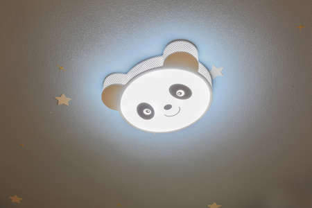 new rules: Blue diatom mud ceiling and panda shaped light