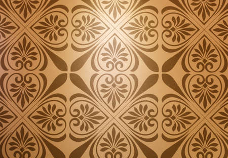 ions: Symmetrical pattern Pattern background wall, diatom mud paint.