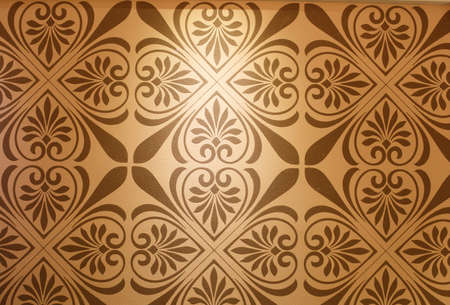ions: Symmetrical pattern Pattern background wall, diatom mud paint,