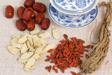 health care and medicine: Chinese Medicine  Nourishing herbs