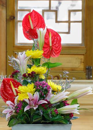 Fresh flower flower arrangement