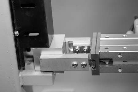 manipulator: Digital control manipulator handling items feature. Precision instrument, robot,