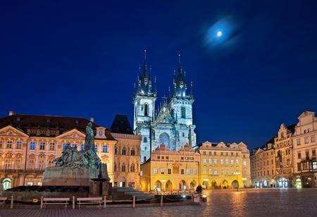 ティーン altenst & aumltter リングのプラハ、チェコ共和国 報道画像