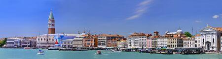 panoramique vie de Venise en Italie
