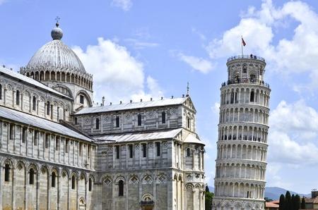 ピサの斜塔の大聖堂 写真素材