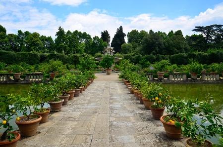 ジャルディーノ ・ デ ・ ボーボリ フィレンツェ イタリア