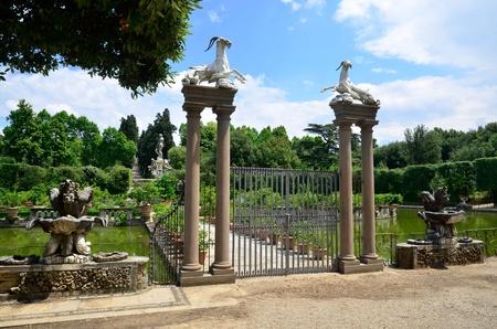 roemer: Giardino de Boboli Florence Italy