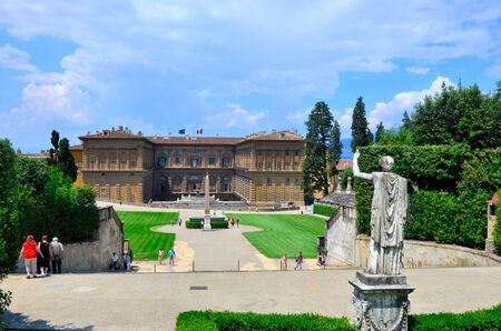 roemer: Palazzo Pitti Florence Italy Editorial
