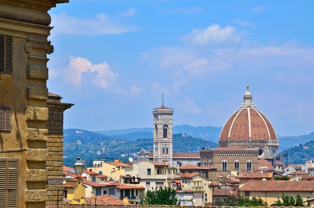 gartenanlage: Cathedral of Florence Italy