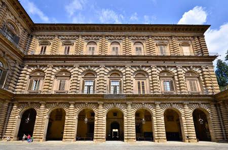 gartenanlage: Palazzo Pitti Florence Italy  Stock Photo
