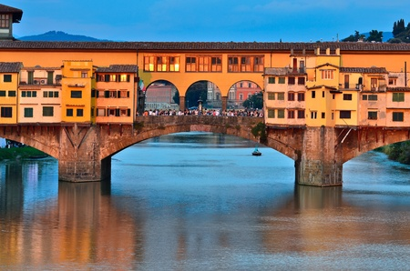 ponte: Ponte Vecchio bridge Florence Italy