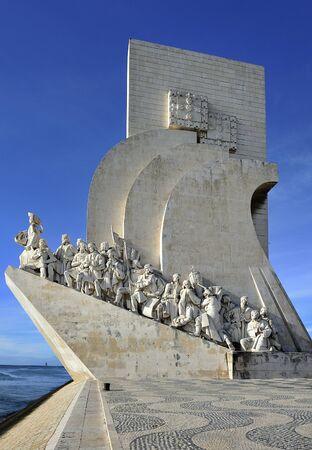 記念碑 Padraco dos Descobrimentos リスボン, ポルトガル