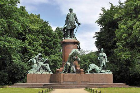ビスマルク記念ベルリン, ドイツ 写真素材