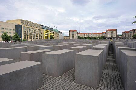 ホロコースト記念ベルリン, ドイツ 報道画像