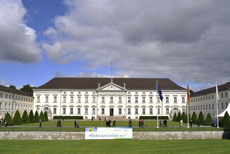 宮殿ベルビュー ベルリン, ドイツ 報道画像