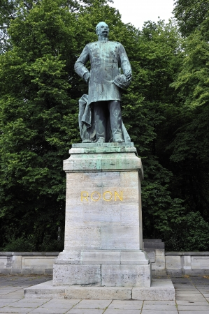 一般的なフォン Roon 記念碑ベルリン, ドイツ