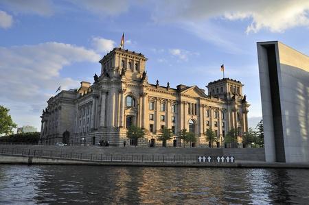 国会議事堂 Reichstag ベルリン, ドイツ 写真素材