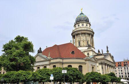 フランス大聖堂ベルリン, ドイツ 写真素材