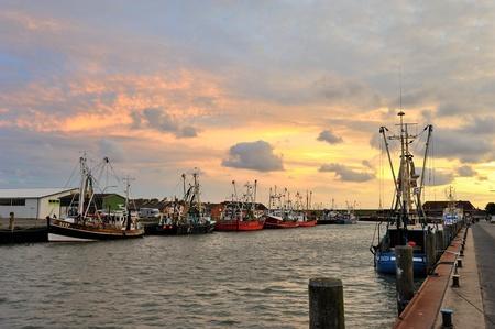 北海の港町ビューズム ドイツ