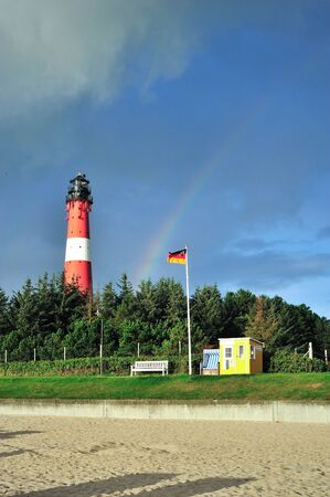 Islansd Sylt Lighthouse Hornum photo
