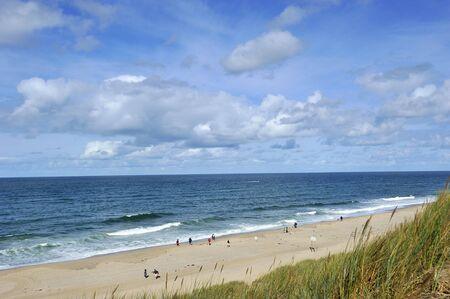 島のビーチで、ドイツのズィルト島します。