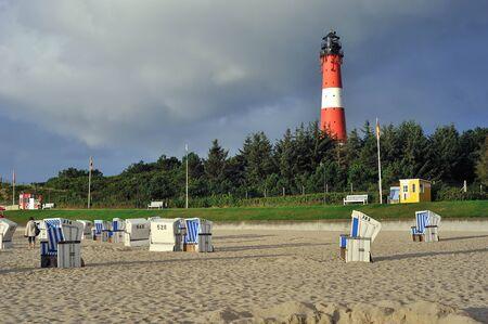 Hornum 島、ドイツのズィルト島の灯台