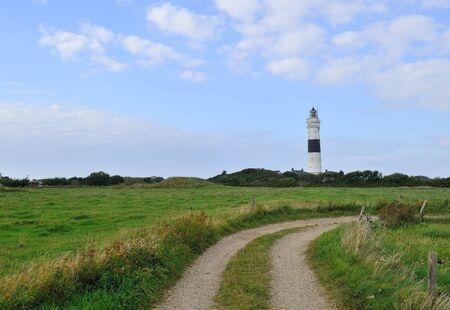 Kampenisland、ドイツのズィルト島の灯台