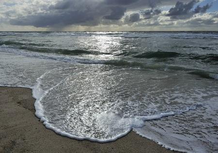 ドイツのズィルト島のビーチで 写真素材
