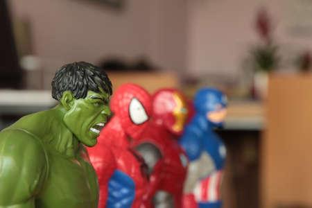 Marvel superheroes. Barcelona, ??June 22, 2016 Redakční