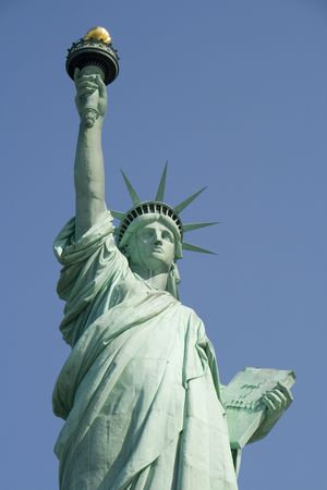 The Statue of Liberty, New York City, USA. photo