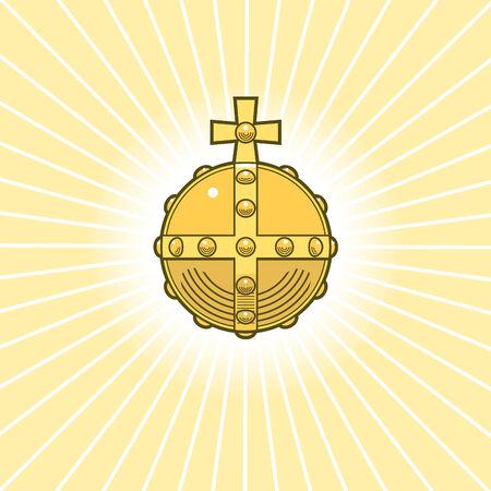 sovereign: Illustration of Royal Sovereign s Golden Orb
