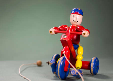 pull along: Toy Stock Photo
