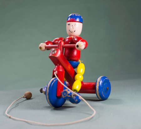 pull along: Pull along toy Stock Photo