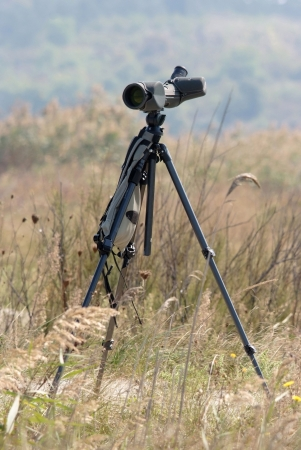 observation des oiseaux spotting portée en champ