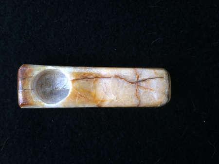 onyx: Seven springs onyx pipe Stock Photo