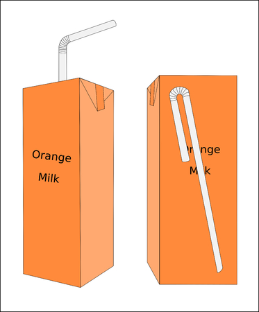 Milks are drink have delicious and nutrient, illustrations graphic Ilustrace