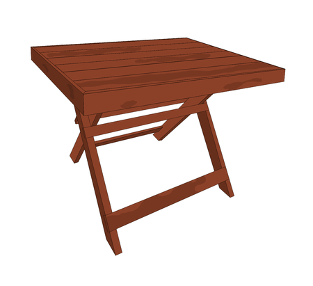 Wood table is has nice design and beautiful, illustrations graphic design.