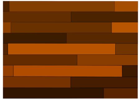 Brown parquet floor pattern background Ilustração