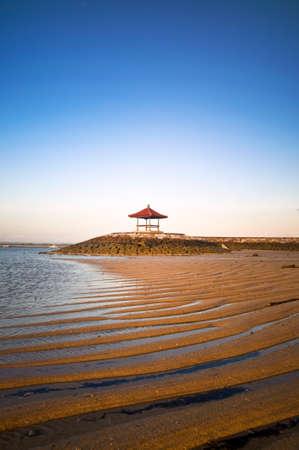 sanur: Bale at Sanur beach bali Stock Photo