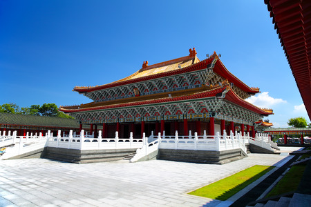 Confucius Temple in Kaohsiung, Taiwan