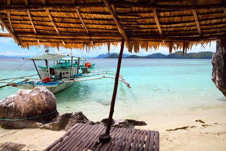 coron: landscape of Coron, Busuanga island, Palawan province, Philippines Stock Photo