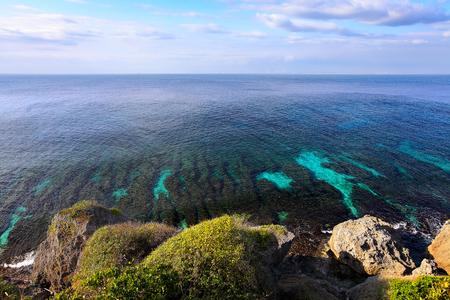 coastline: Coral reef coastline