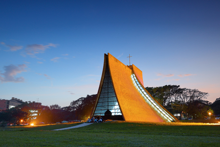 Luce Memorial Chapel on the campus of Tunghai University in Taichung, Taiwan