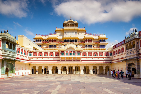mughal empire: City Palace is a palace complex in Jaipur, the capital of the Rajasthan state, India. Editorial